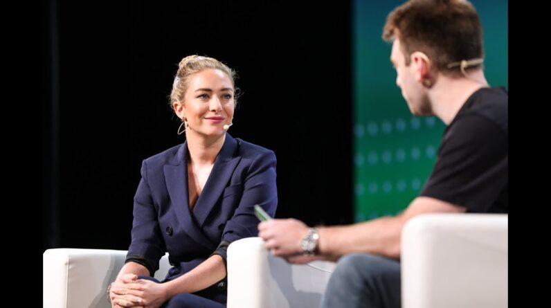 A Very Busy Bee with Whitney Wolfe Herd (Bumble)   Disrupt SF 2018