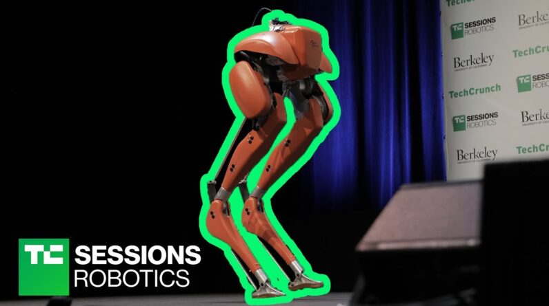 Andy Rubin and the Cassie robot   TC Sessions Robotics 2018