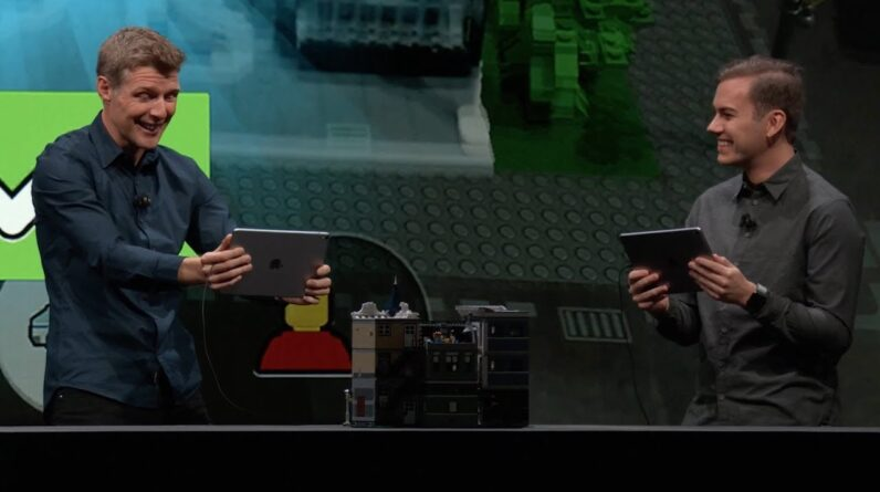 Lego sets its eye on the future with Apple ARKit 2