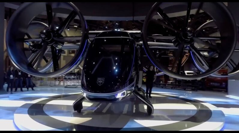 Uber partner Bell unveils flying taxi